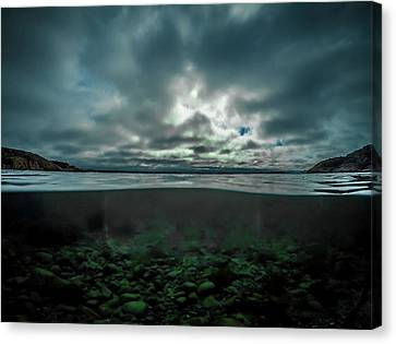 Canvas Print featuring the photograph Hostsaga - Autumn Tale by Nicklas Gustafsson
