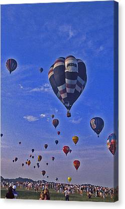 Hot Air Balloon - 14 Canvas Print