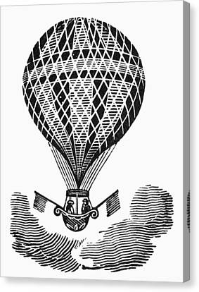 Hot Air Balloon Canvas Print by Granger