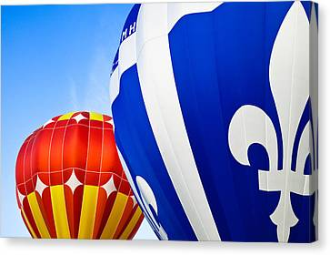 Hot Air Balloons Close-up Canvas Print