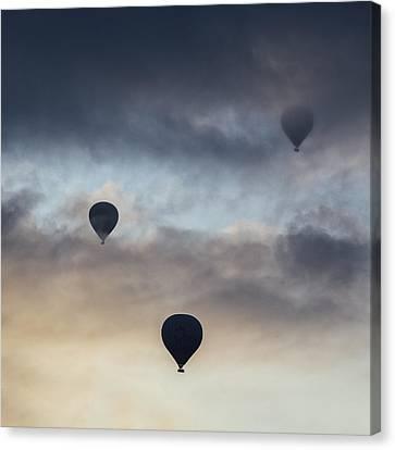 Hot Air Balloons Canvas Print by Joana Kruse
