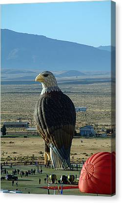 Hot Air Eagle Canvas Print by Charles  Ridgway