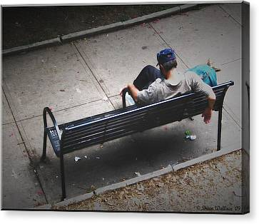 Hot And Homeless Canvas Print by Brian Wallace
