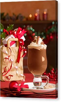 Hot Chcolate Drink Canvas Print by Amanda Elwell