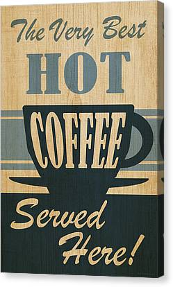 Hot Coffee Canvas Print by WB Johnston