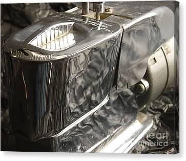 Hot Lather Shave Cream Dispenser Canvas Print by Jason Freedman