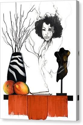 Hot Like Fire IIi Canvas Print by Anthony Burks Sr