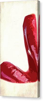 Hot Lips.. 1 Canvas Print by Prar Kulasekara