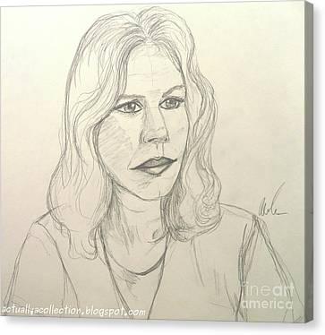 Hot Nurses Canvas Print - Hot Lips by Andrea Cole