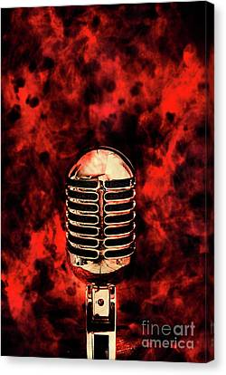 Broadcast Canvas Print - Hot Live Show by Jorgo Photography - Wall Art Gallery