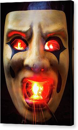 Hot Mask Canvas Print by Garry Gay