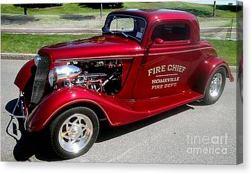 Hot Rod Chief Canvas Print