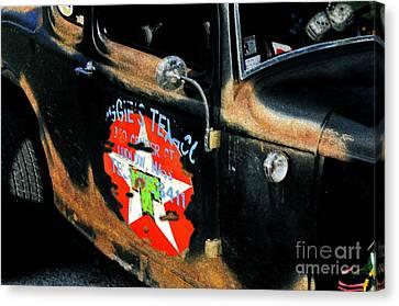 Hot Rod Canvas Print by David Lee Thompson