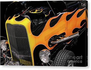 Hot Rod Canvas Print by Oleksiy Maksymenko