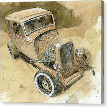 Hot Rod Tudor Canvas Print