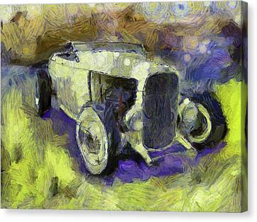 Hot Rod Van Gogh Canvas Print