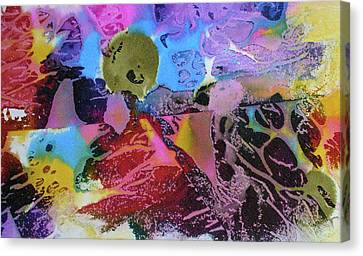 Canvas Print featuring the painting Hot Stuff by Mary Sullivan