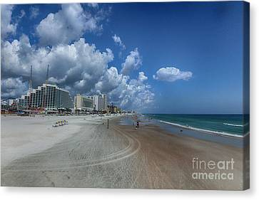 Hot Times In The Summertime Canvas Print by Judy Hall-Folde
