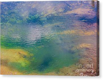 Canvas Print featuring the photograph Hot Water Color  by Robert Pearson