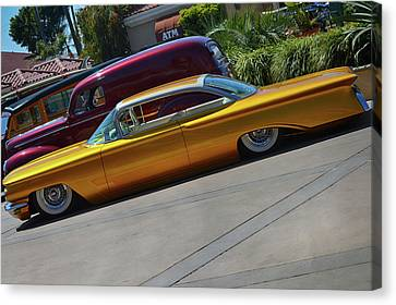Hotcake Olds Canvas Print by Bill Dutting
