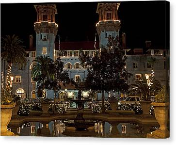 Hotel Alcazar Canvas Print by Kenneth Albin