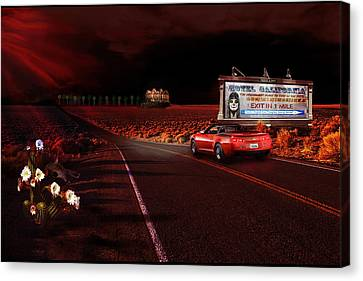 Hotel California Canvas Print by Michael Cleere