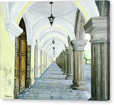 Hotel Casa Mia Canvas Print