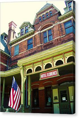 Hotel Florence Pullman National Monument Canvas Print