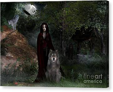 Hour Of The Wolf Canvas Print