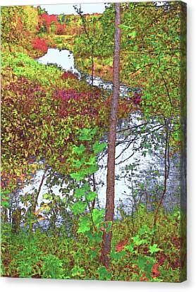 Housatonic River 2 - New England Canvas Print by Steve Ohlsen