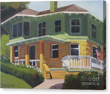 House At Knowlwood Canvas Print