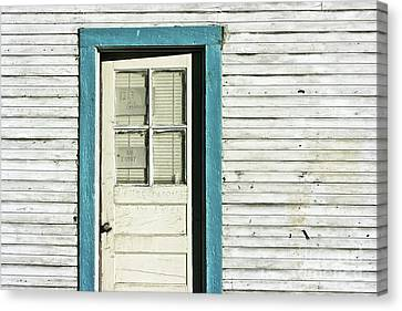 Harry Callahan Canvas Print - House Detail Carson City Nevada After Harry Callahan by Gus McCrea