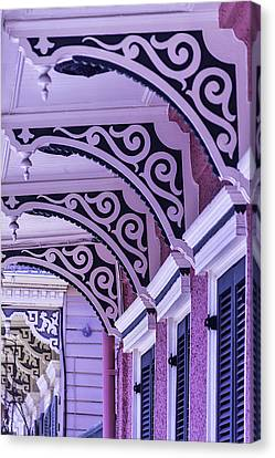 Nola Canvas Print - House Details by Garry Gay