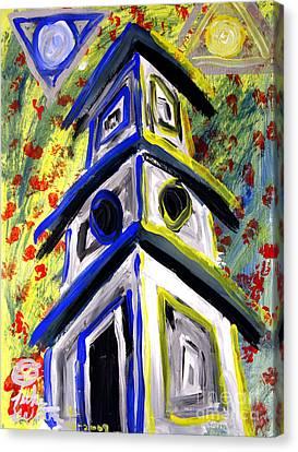 House Canvas Print by Luke Galutia
