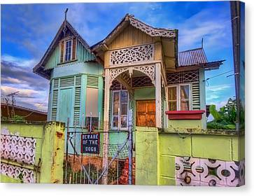 House Of Colors Canvas Print by Nadia Sanowar