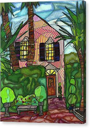 House Of Pink Canvas Print by Michelle Brooksbank