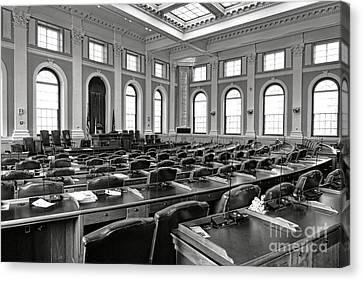 House Of Representatives Chamber Of Maine In Augusta Canvas Print