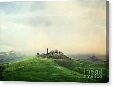 House Of Rising Sun Canvas Print by Evelina Kremsdorf