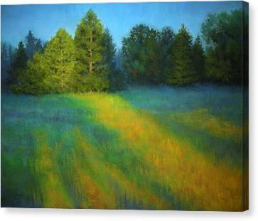 House Of The Rising Sun Canvas Print by Paula Ann Ford