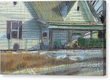 House On Cherokee Street Canvas Print by Donald Maier