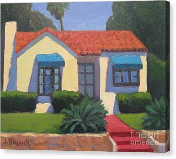 House On Cota Canvas Print by Jennifer Boswell