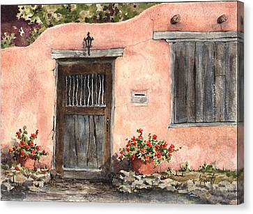 House On Delgado Street Canvas Print by Sam Sidders