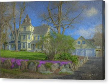 House On Elm St., Easton, Ma Canvas Print