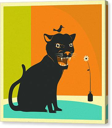 House Panther Canvas Print