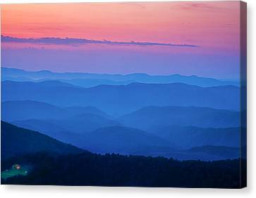 House With A View Canvas Print by Andrew Soundarajan