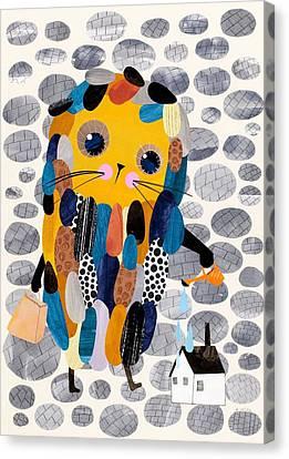 Housekeeper Canvas Print by Anne Vasko