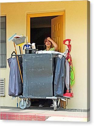 Housekeeper Canvas Print