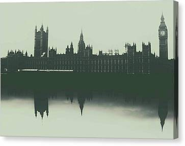 Canberra Canvas Print - Houses Of Parliament by Martin Newman