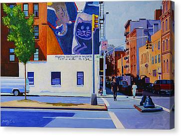 Houston Street Canvas Print by John Tartaglione