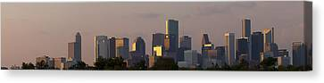 Houston Sunset Canvas Print by Joshua House